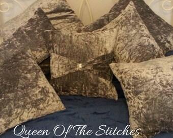 Crushed Velvet Cushions