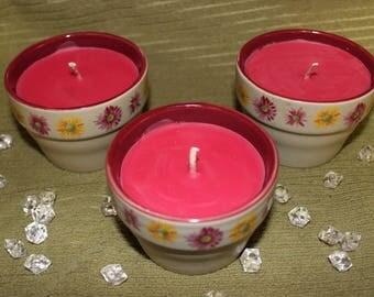 Flower Pot Candle
