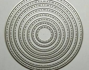 Stitched Circle Die Set