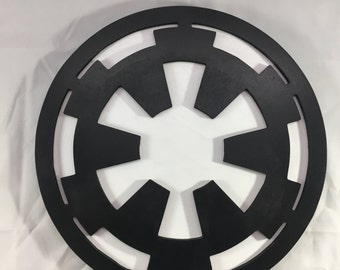 Galactic Empire Sign - 12inch round - 3D