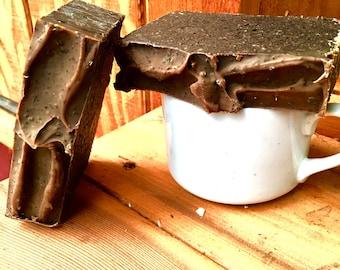 Handmade Vegan Chocolate Espresso Coldprocess Soap