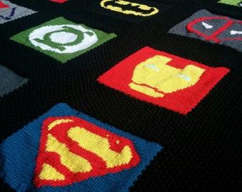 Superhero Blanket Pattern