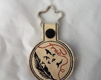Key ring spring