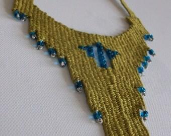 Ladi kilimaki- woven jewelry
