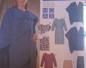Boss SIMPLICITY 9954 trousers shawl tunic dress for woman