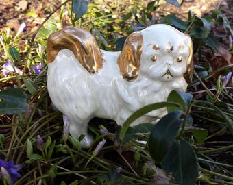 Vintage Pekingese Dog Figurine
