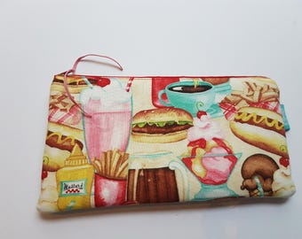Retro Diner Milkshake Bag