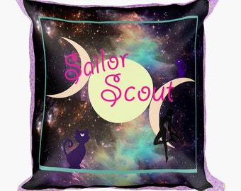 Sailor Moon galaxy pillow case