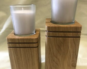 Set of 2 Votive candle holders
