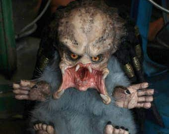 Little Predator, OOAK art doll, will make to order