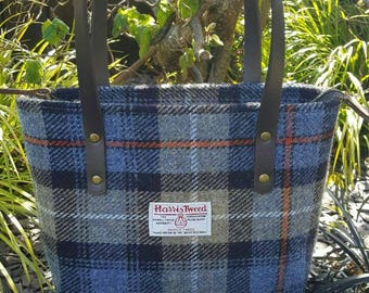 Harris Tweed handbag Mckenzie Tartan