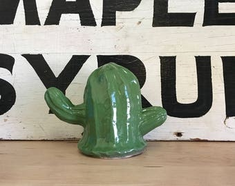 Handmade Ceramic Cactus | Terrarium Filler | Cactus Figurine