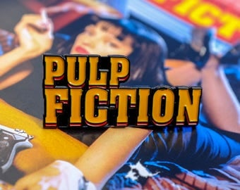 Pulp Fiction Enamel Pin