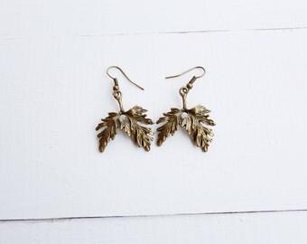 Oak Leaf Earrings | Earth Wear