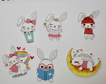 RABBIT DIE CUTS perfect for scrapbooks, journals, planners and more