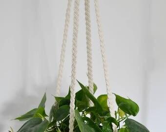 Gracefully Braided Plant Hanger