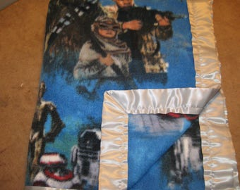 Soft Fleece Star Wars Blanket