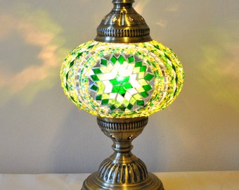 Bursa - Handmade Turkish Lantern Table Lamp
