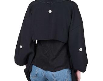 Cache-shoulder kimono