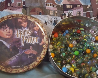Marble collection in Vintage Harry Potter Tin