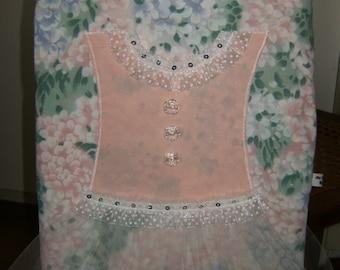 Girl's Tote Bag, Tutu Tote Bag, Upcycled Tutu Tote Bag, Pink Tutu Bag