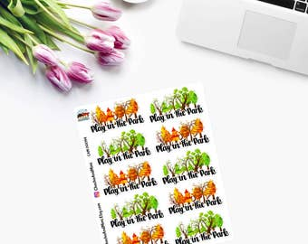 Play In The PARK - Planner Stickers CAM00094