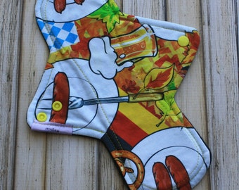 "11"" regular cloth pad/ mama cloth/ incontinence pad/ Made by Mother"