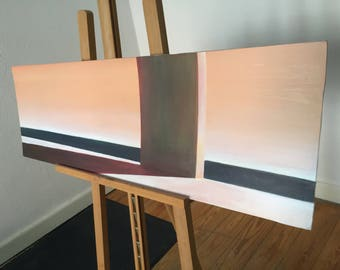Painting: Unbekannte Landschaft