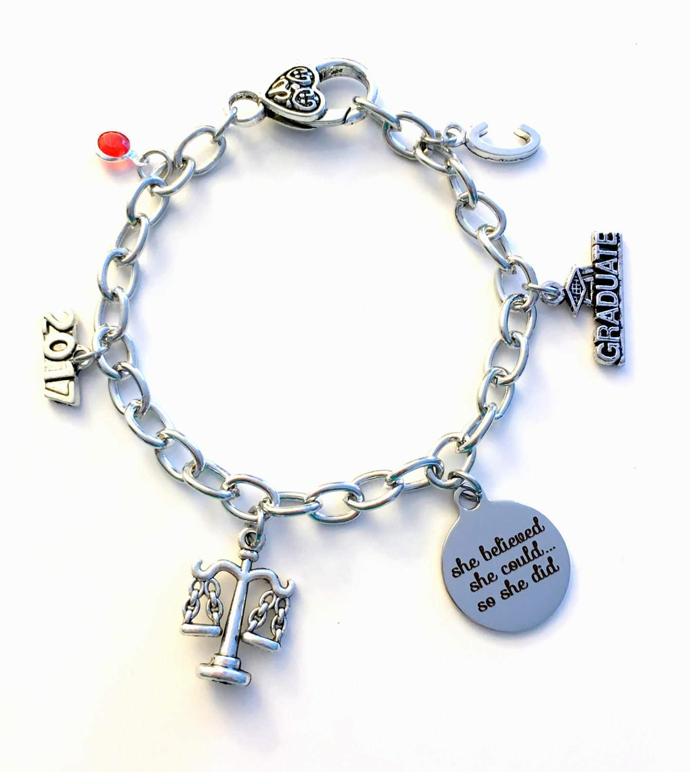 il of photo tree beaded charm gallery listing graduation life fullxfull bracelet