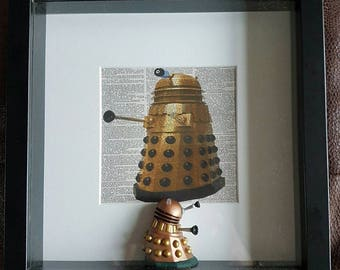 Dr Who box Frames with Charaters
