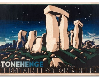 Stonehenge See Britain First on Shell