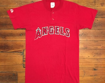 Vintage Angels Baseball Tee