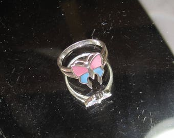 D- 95 Vintage  Ring  size 8  1/2 925 silver