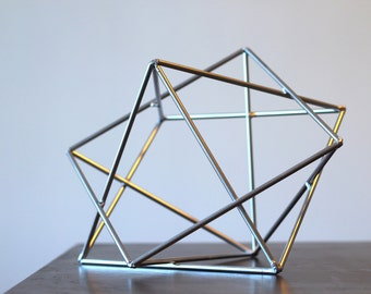 Minimalist Art Sculpture Modern Metal Sculpture Geometric Sculpture Minimalist Decor Home Decor