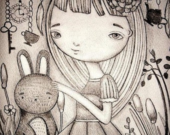 Alice and the lil rabbit
