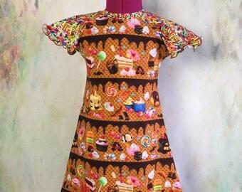 Summer Treats Flutter Dress