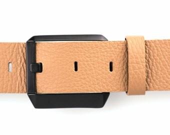 Leather Belt, Mens Leather Belt, Womens Leather Belt, Genuine Leather Belt, Full Grain Leather Belt, Brown Leather Belt, Brown Mens Belt