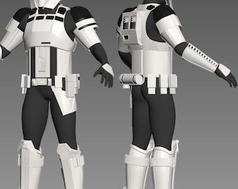 Tank trooper armor