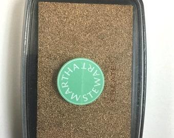 Martha Stewart Crafts - Archival Pigment Ink Pad - Copper