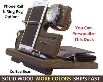 Christmas Gifts for Men, Docking Station, Gifts for Dad, Gifts for Him, iPhone 6, Docking Station, Mens Christmas Gift