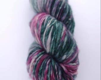 BOREAL hand dyed super-bulky chunky yarn, 100 % superwash merino