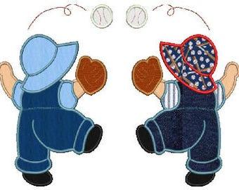 Baseball Sam applique embroidery designs,1 design,8 formats(dst,exp,jef,hus,pes,vip,vp3,xxx),instant download,1 zip file