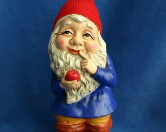 Sweet Hand Painted Santa Elf