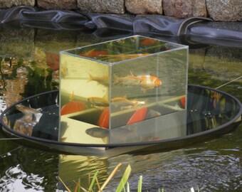 Flying aquarium by flyingaquarium on etsy for Floating fish aquarium for pond