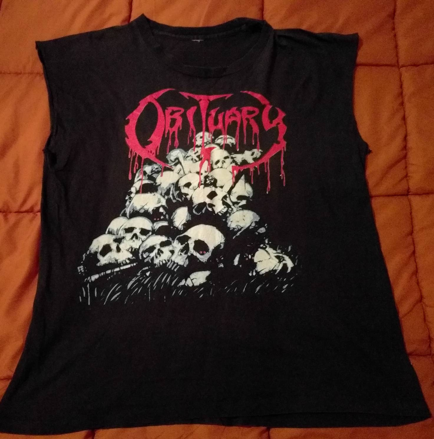 Black death t shirt european tour - Details Very Rare Tour Shirt From This Great Death