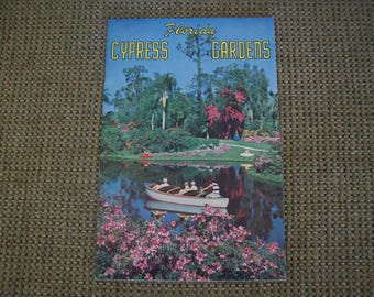 Florida Cypress Gardens Booklet 1950. Price Includes Shipping