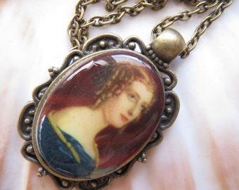 Chain, Rococo, Baroque, Lady chain, Madame, Vintagelook, Vintagechain, old cabochon, old Cabochon.