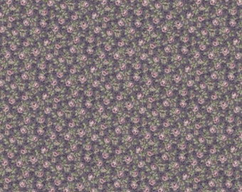 Prima - Per Yd - Paintbrush Studio -  Small  Floral on Mulberry