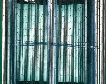 Revolving Door Bamboo Beaded Curtain