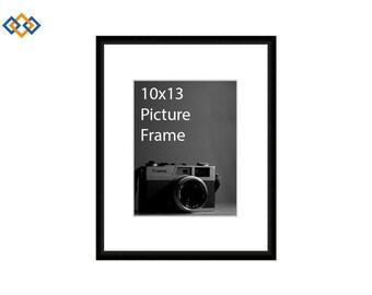 10x13 standard picture frame black